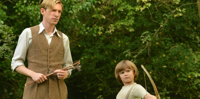 Domhnall-Gleeson-and-Will-Tilston-in-Goodbye-Christopher-Robin